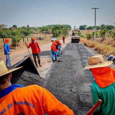Manutenção da rodovia que liga Rolim de Moura a Alta Floresta chega à fase final