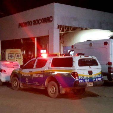 VIOLÊNCIA – Comerciante é atacado a tiros na frente de clientes e amigos