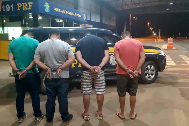 Vilhena: Goianos são presos pela PRF com documentos falsos e por associação criminosa