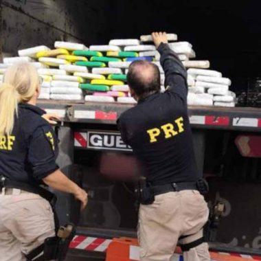PRF apreende 71 kg de cocaína na BR-364 em Pimenta Bueno
