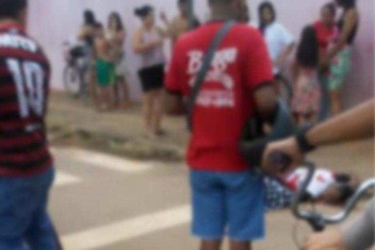 QUEIMA DE ARQUIVO – Testemunha de crime é executada em frente à escola