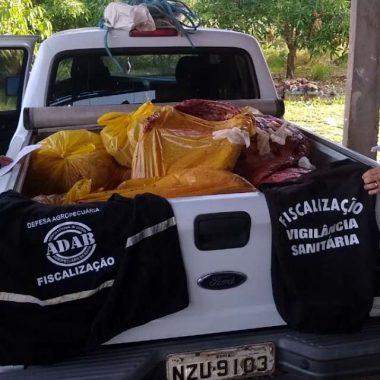Carne de cavalo que seria vendida como se fosse bovina é apreendida na Bahia