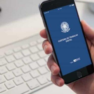 Prefeitura divulga disponibilidade da Carteira de Trabalho Digital
