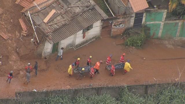 Defesa Civil confirma 30 mortes em Minas por causa das chuvas