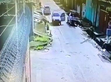Vídeo mostra momento em que funcionário da Energisa é morto a tiros na zona leste
