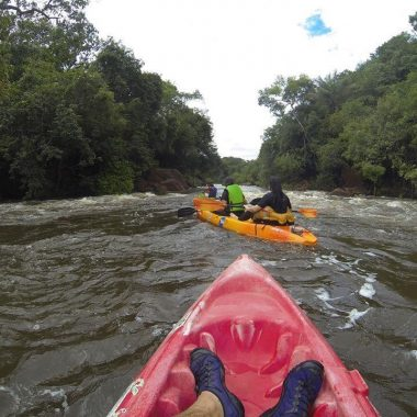 Venha experimente remar de caiaque nesse final de semana com a Amazônia Adventure