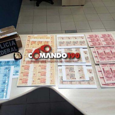 PF prende dupla que comprou mais de 100 mil reais falsos pela internet