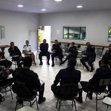 Janeiro Branco traz saúde mental para o centro do debate no 4º Batalhão de Polícia Militar em Cacoal