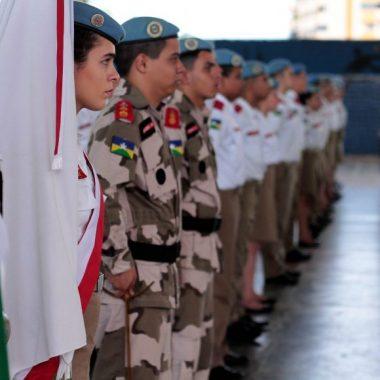 Escola Estadual Priscila Rodrigues Chagas, em Rolim de Moura, é transformada na oitava unidade de colégio militar de Rondônia