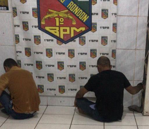 Dupla que tentou assaltar mulher em via publica é presa após perseguição
