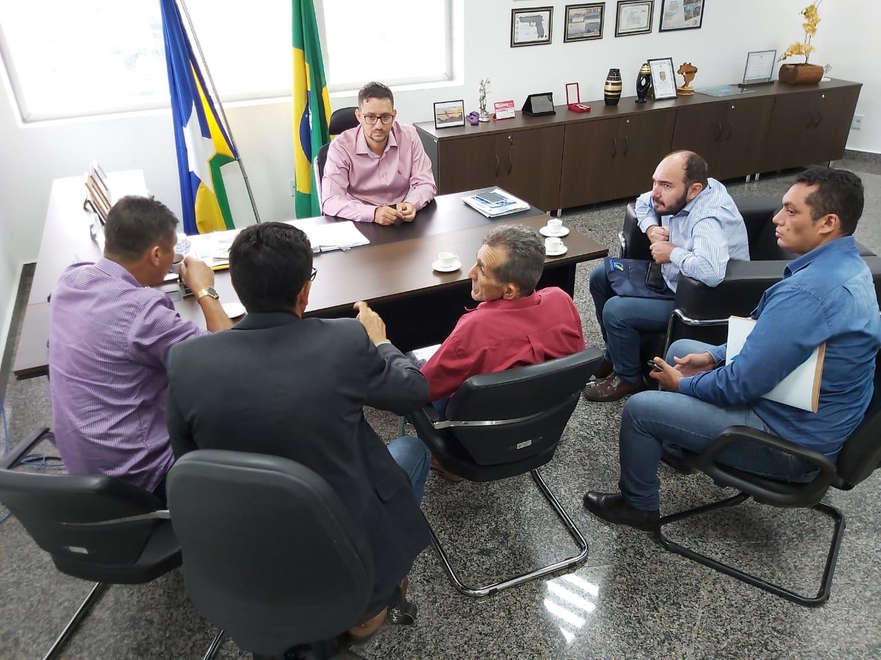 Deputado Anderson recebe comissão do município de Nova Mamoré e vai destinar emenda para melhorias de estradas e pontes da região