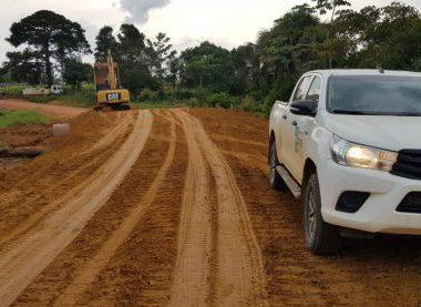 DER soluciona antigo problema de alagamento na rodovia 205 em Machadinho d'Oeste