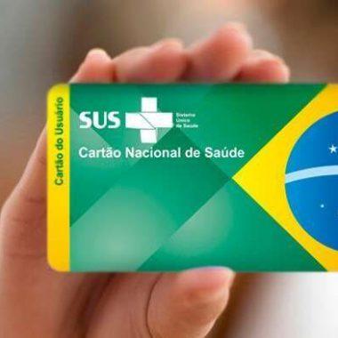 Prefeitura pede para população a atualização do cartão SUS