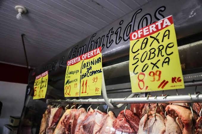 Preço da carne cai para o consumidor