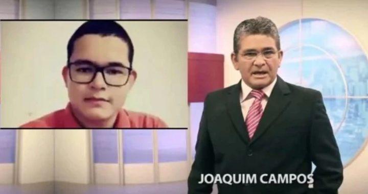 Filho de apresentador é morto com tiro na cabeça ao reagir assalto