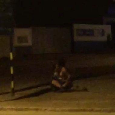 Casal é filmado mantendo relação sexual em via pública, em Ji-Paraná