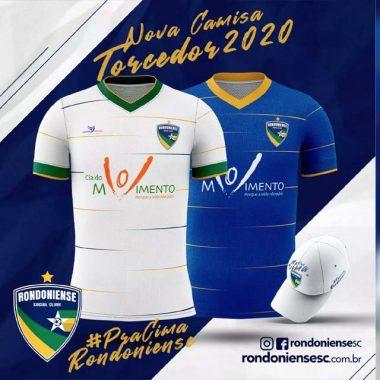CAMPEONATO RONDONIENSE – Rondoniense divulga novo uniforme para temporada 2020