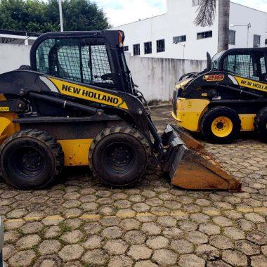 SEVIC do 1º DP recupera maquinas furtadas no pátio da SEMA e construtora em Porto Velho
