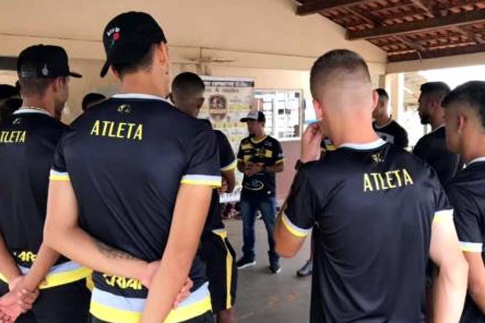 Vilhenense está quase pronto para estreia na Copa São Paulo de Futebol Júnior 2020
