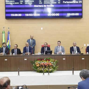 Presidente da Assembleia abre ano legislativo mostrando economia de R$ 50 milhões