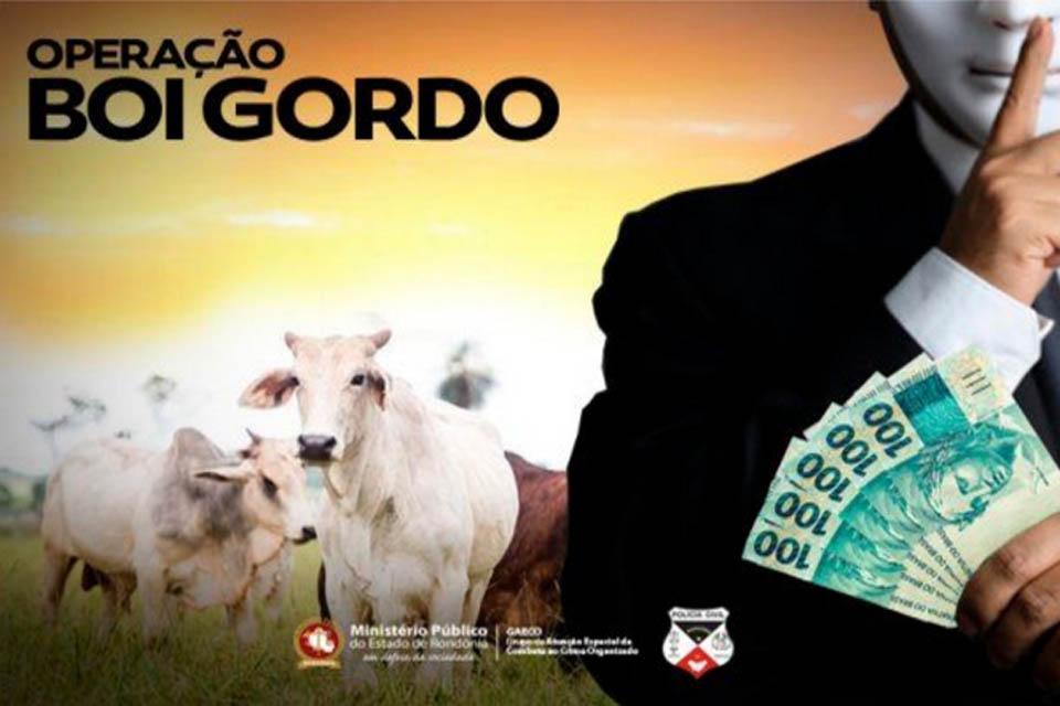 Operação Boi Gordo – Ministério Público obtém, cautelarmente, afastamento das funções públicas de Auditor Fiscal