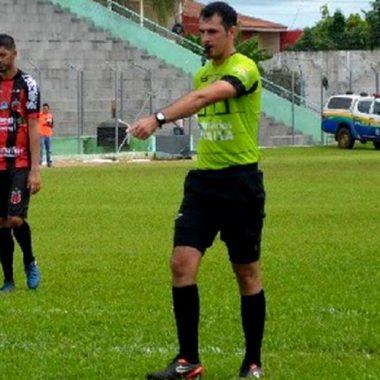 Caio Nunes Cazuza apita Barcelona e Vilhenense no domingo pela quarta rodada do Rondoniense