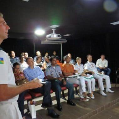 Sesau realiza capacitação de profissionais de saúde da PM de Porto Velho para abordagem e tratamento do tabagismo