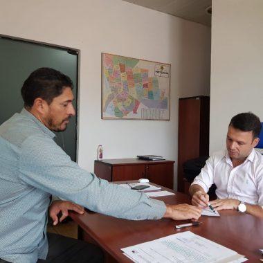 Em Reunião na Suop, Márcio Pacele pede melhorias para os bairros Rosalina de Carvalho, Escola de Polícia e Parque Amazônia