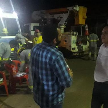 Vereador Isaque Machado tem pedido de providência atendido e 70 pontos de lâmpadas são trocados
