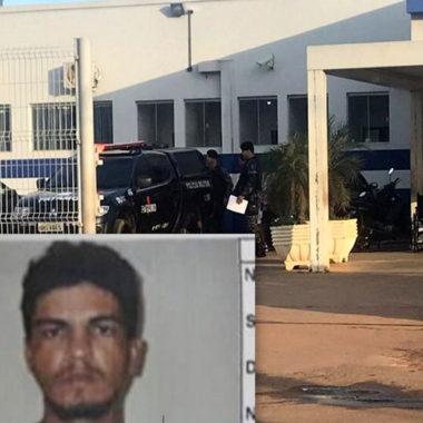 PM recaptura em Jaru foragido de presidio de Ariquemes com arma de fogo