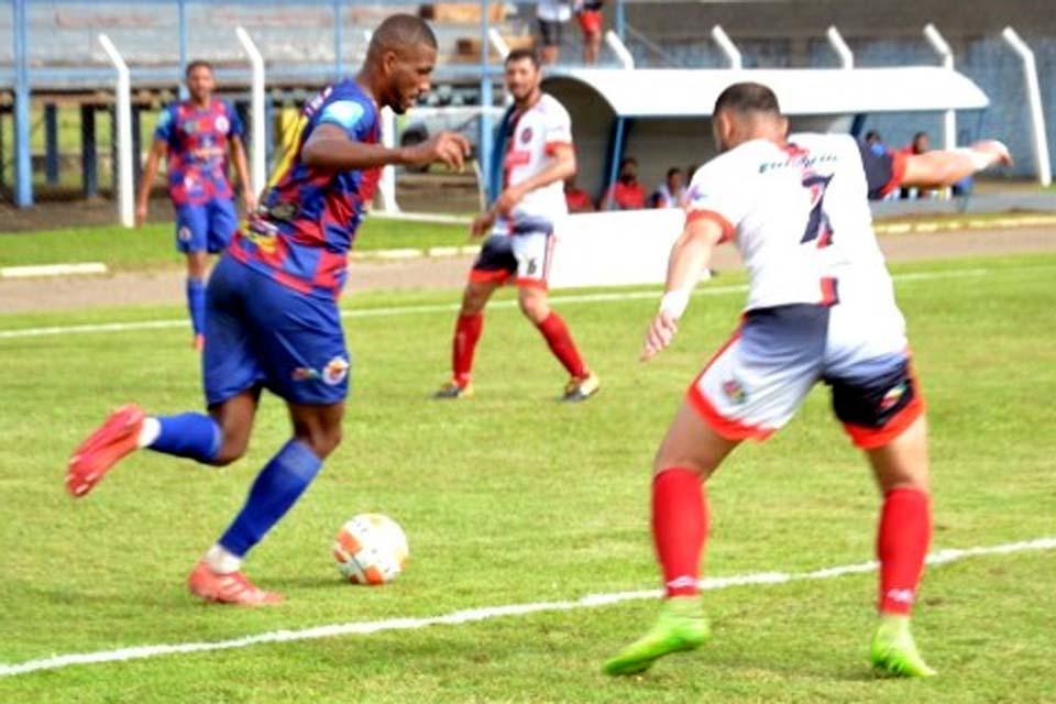 Matheus assume a ponta da artilharia do Rondoniense-2020