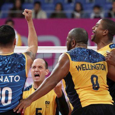 Vôlei Sentado: Brasil faz amistoso contra a Ucrânia
