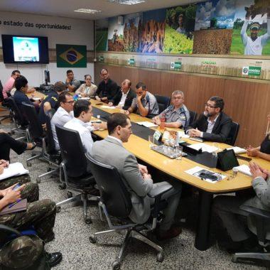 Governo realiza reunião de alinhamento com órgãos estaduais e federais para receber Comitiva Boliviana na Rondônia RRShow Internacional