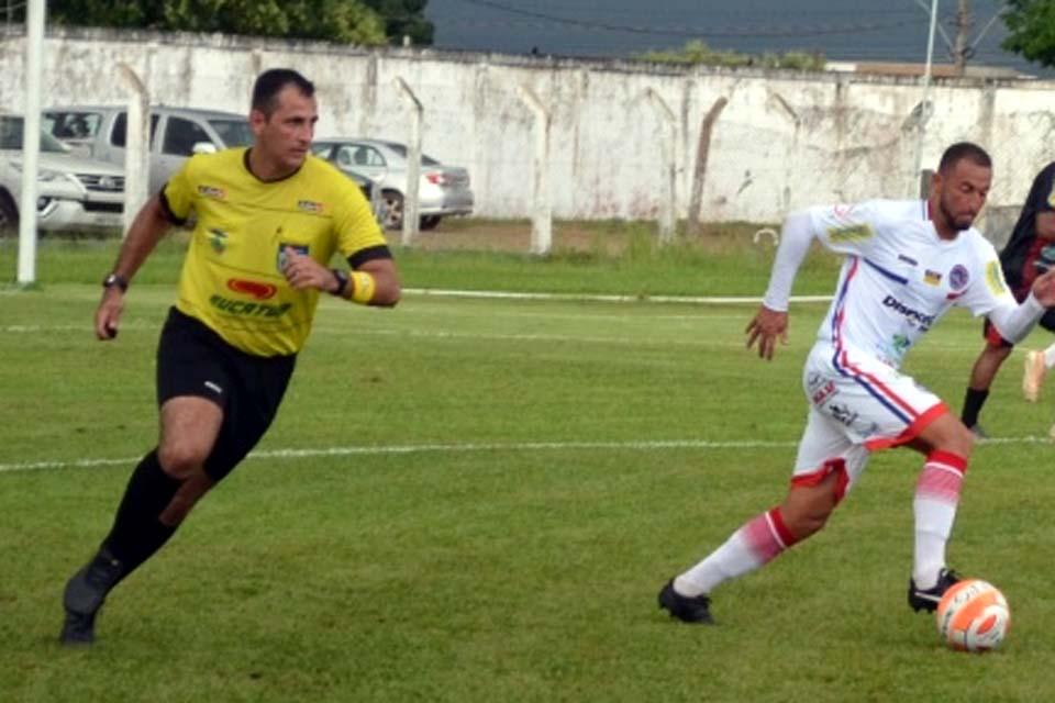 FFER define árbitros para sexta rodada do Rondoniense-2020