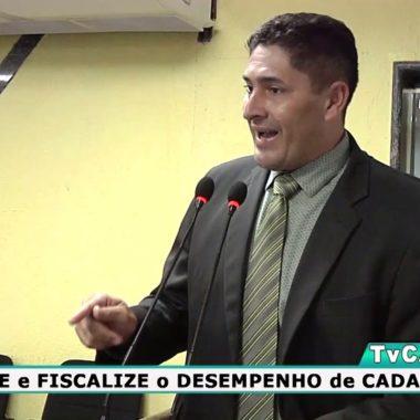 Márcio Pacele destaca atuação do deputado Anderson Pereira durante discurso na Câmara Municipal de Porto Velho