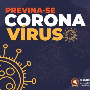 MP de Rondônia orienta sobre prevenção de coronavírus