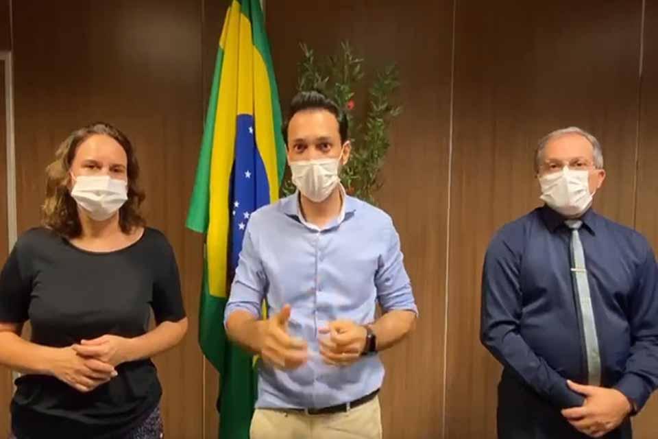 PANDEMIA – Rondônia registra mais dois casos de Coronavírus, informa Sesau