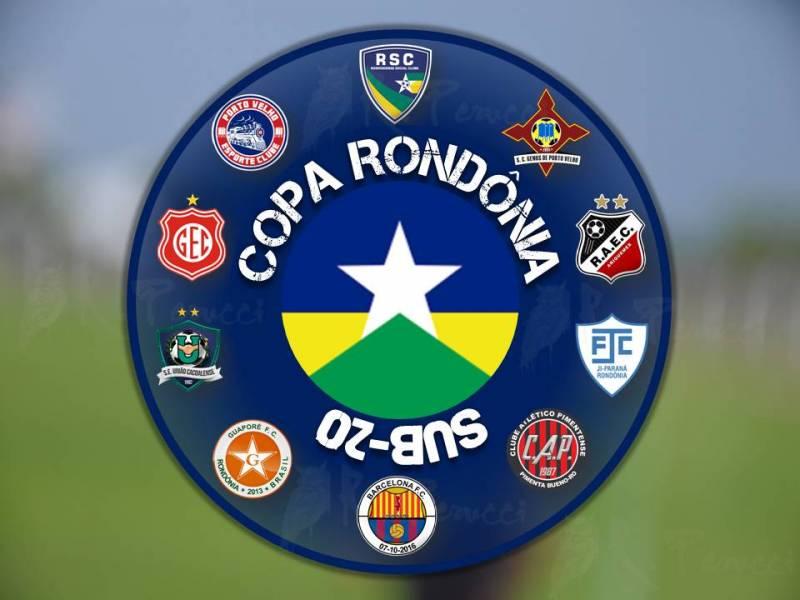 Copa Rondônia Sub-20 terá dez clubes na disputa de olho em duas vagas no Copa São Paulo de Juniores