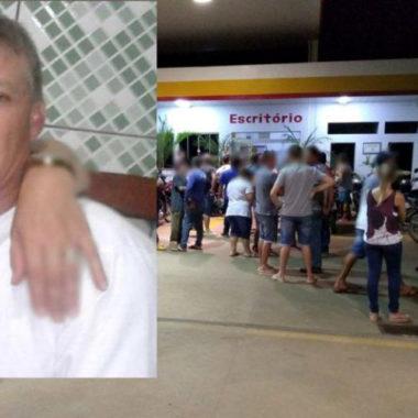 Frentista é morto com três tiros em posto de combustível que trabalhava
