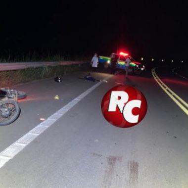 Motociclista morre após acidente na BR 429 em São Francisco do Guaporé