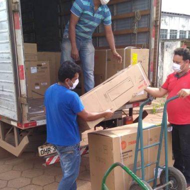 Coronavírus: Governo de Rondônia instala novos geradores de energia e condicionadores de ar no Cemetron e demais unidades