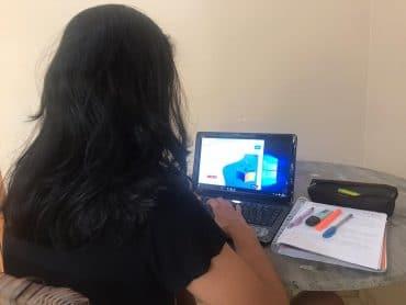 Aulas on-line contribuem para a preparação de alunos ao Enem