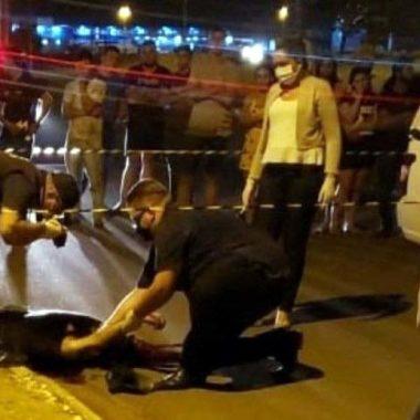 PASSIONAL – Empresário é executado a tiros no centro da cidade