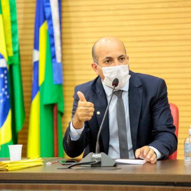 Deputado Ismael Crispin agradece iniciativa de empresa na luta contra a disseminação do novo Coronavírus