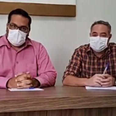 CORONAVÍRUS – Município registra o primeiro paciente com a doença