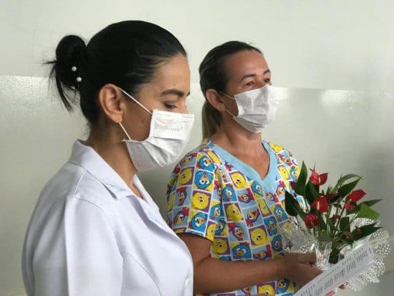 Enfermeira recuperada da Covid-19 volta ao trabalho em Rondônia como exemplo de superação e inspiração