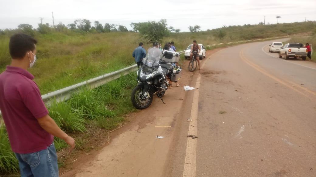 Superintendente do Banco Basa em Rondônia morre de acidente de moto próximo a ponte sobre o Rio Madeira