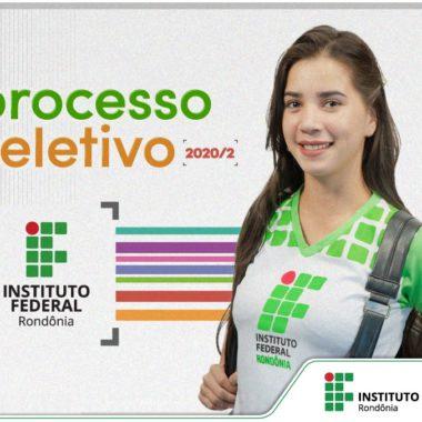 IFRO oferece mais de 4 mil vagas em cursos de graduação e subsequentes