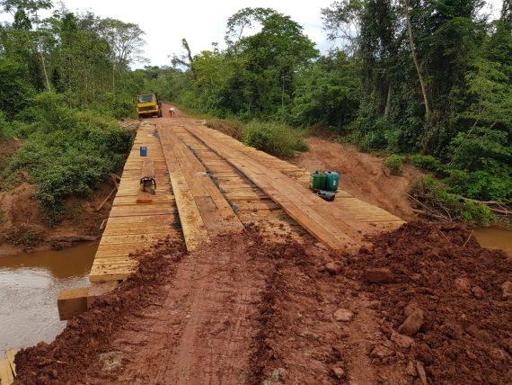 Madeira apreendida na Operação Arco Verde 2 será usada na recuperação de pontesf
