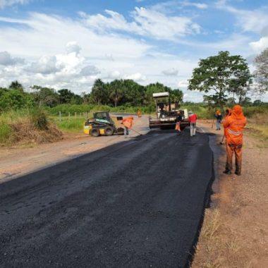 Recuperação da RO-492 deve garantir acesso seguro do município de Parecis à RO-491